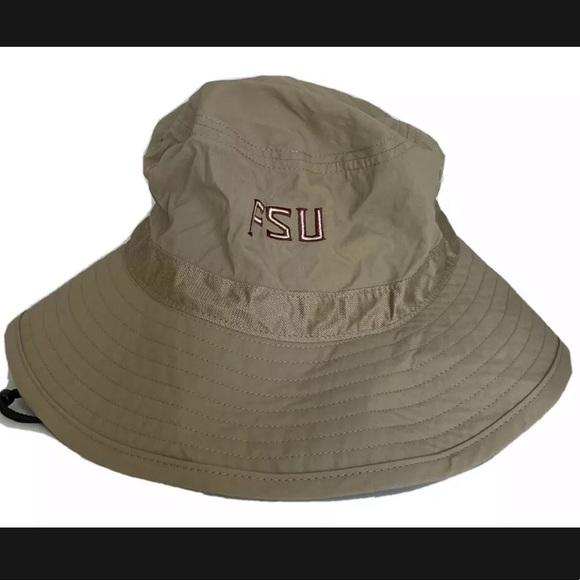 Nike Dri Fit Florida Uni FSU Bucket Hat L/XL NEW